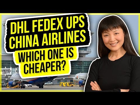 Air Shipping DHL FedEx UPS China Airline which one is cheaper? | Amazon FBA | Sourcing Warrior