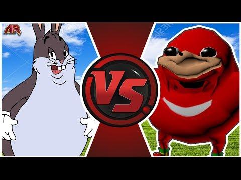 BIG CHUNGUS vs UGANDAN KNUCKLES Animation Meme | AnimationRewind from YouTube · Duration:  2 minutes 9 seconds