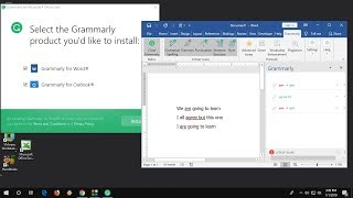 Download Install Use Free Grammarly For Ms Word Outlook Youtube