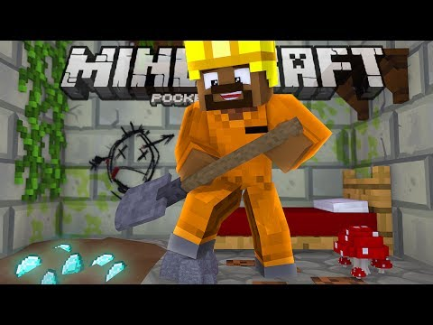 The PRISON Life Is NOT For Me!!! - Prison Server Ep. 01 - Minecraft PE (Pocket W10 Edition)