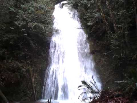 Seeattle.com - The Traveling Twins - Madison Creek falls, Port Angeles (Washington)