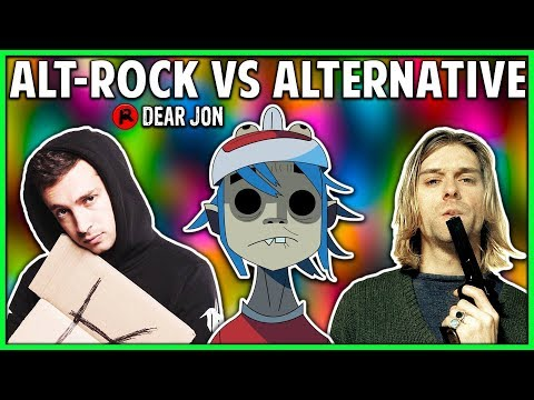 ALTERNATIVE ROCK VS ALTERNATIVE! What's the Difference?