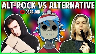 ALTERNATIVE ROCK VS ALTERNATIVE! What's the Difference? thumbnail