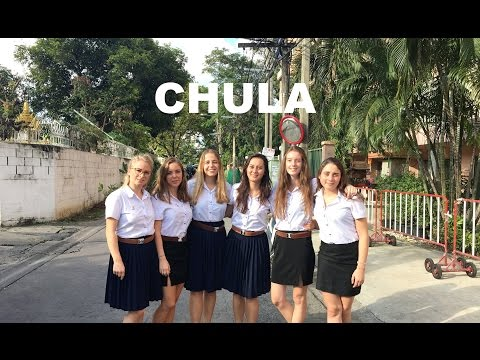 A typical day at Chulalongkorn University in Thailand