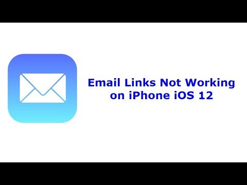 Email Link Not Working on iPhone in iOS 12 - Here's the Fix
