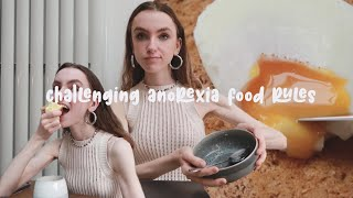CHALLENGING ANOREXIA FOOD RULES | rorecovering