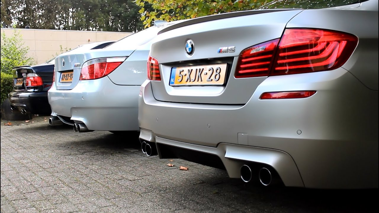 which bmw m5 sounds the best m5 e39 m5 e60 or m5 30. Black Bedroom Furniture Sets. Home Design Ideas