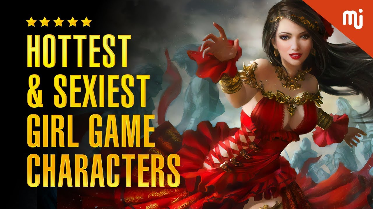 Most Hot And Sexy Girl Gaming Characters 2019-2020 | Most Sensuous Girl Game Characters 2019- 2020
