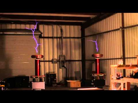 Singing Tesla coil plays Game of Thrones theme song