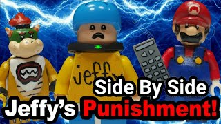Lego SML: Jeffy's Punishment! (Side By Side)