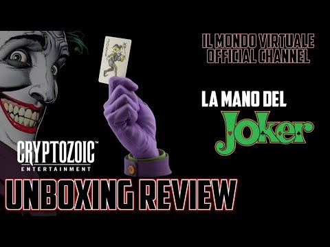La Mano del Joker - Cryptozoic Entertainment - Unboxing Review