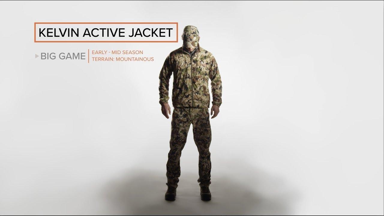2XL Subalpine Sitka Gear Kelvin Active Jacket