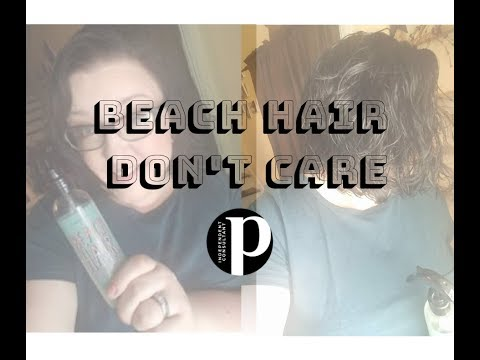 How To Use Beach Hair Dont Care By Perfectly Posh
