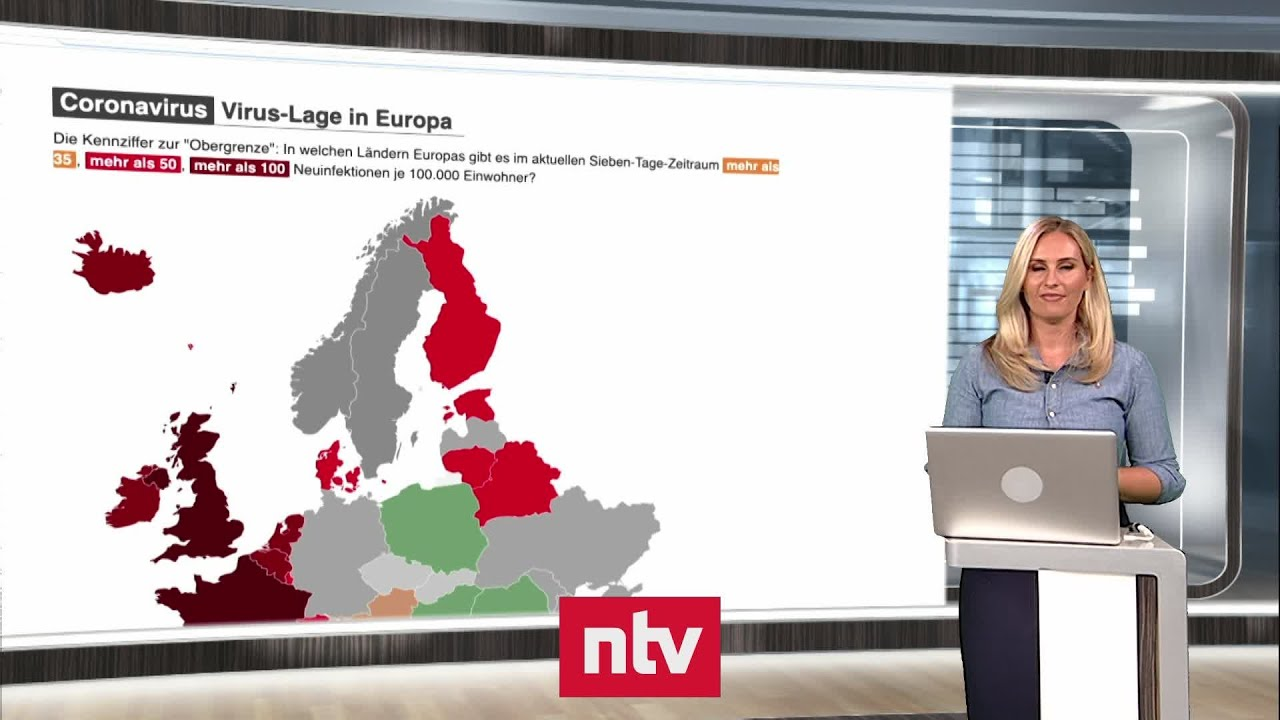 Aktuelle Zahlen zur Corona-Krise - Top-Ziele dunkelrot: Wo Europa noch gut bereisbar ist   ntv