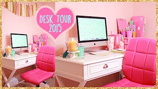 Desk Tour & Craft Storage 2015