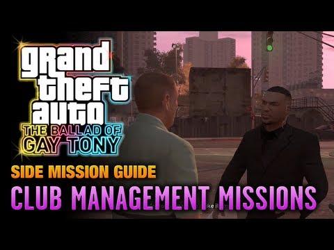 GTA: The Ballad Of Gay Tony - Club Management Missions (1080p)