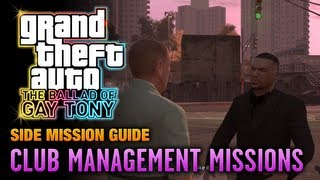 GTA: The Ballad of Gay Tony - Club Management Missions (1080p)