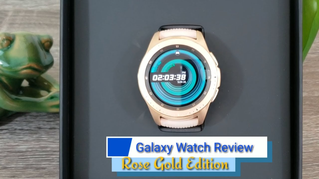 Samsung Galaxy Watch 42mm Rose Gold Unboxing  Best Color Ever  - YouTube d934521f18f