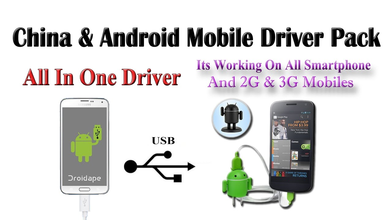 Android usb driver solution all in one pack(mtk,spd) youtube.