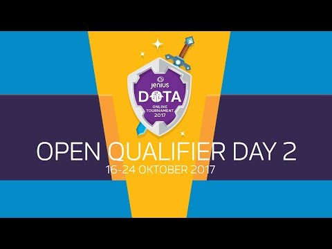 Jenius DOTA 2: Online Tournament 2017 - Open Qualifier day 2