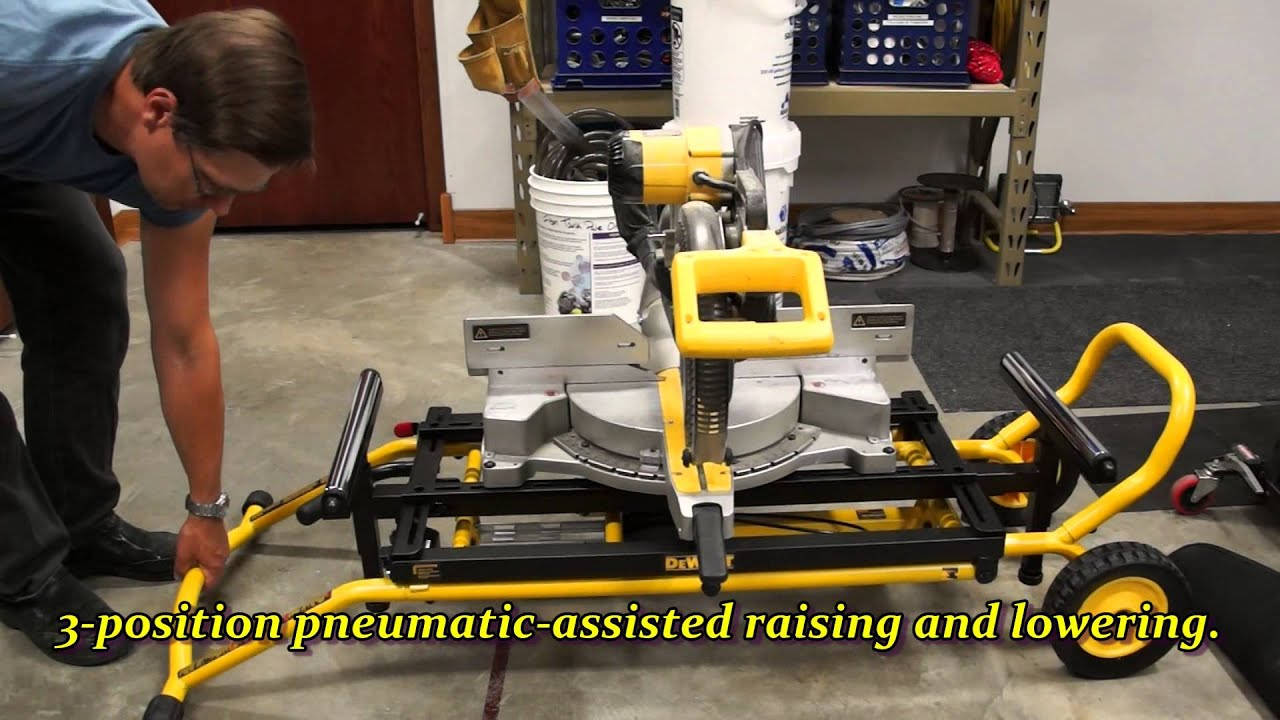 Dewalt Miter Saw Stand Youtube