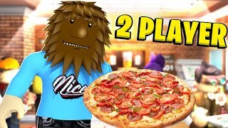 2 Player Pizza Shop Tycoon In Roblox | JeromeASF Roblox