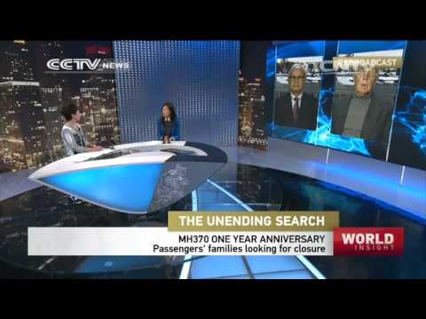 CCTV World Insight - MH370 anniversary; HK-Mainland divide