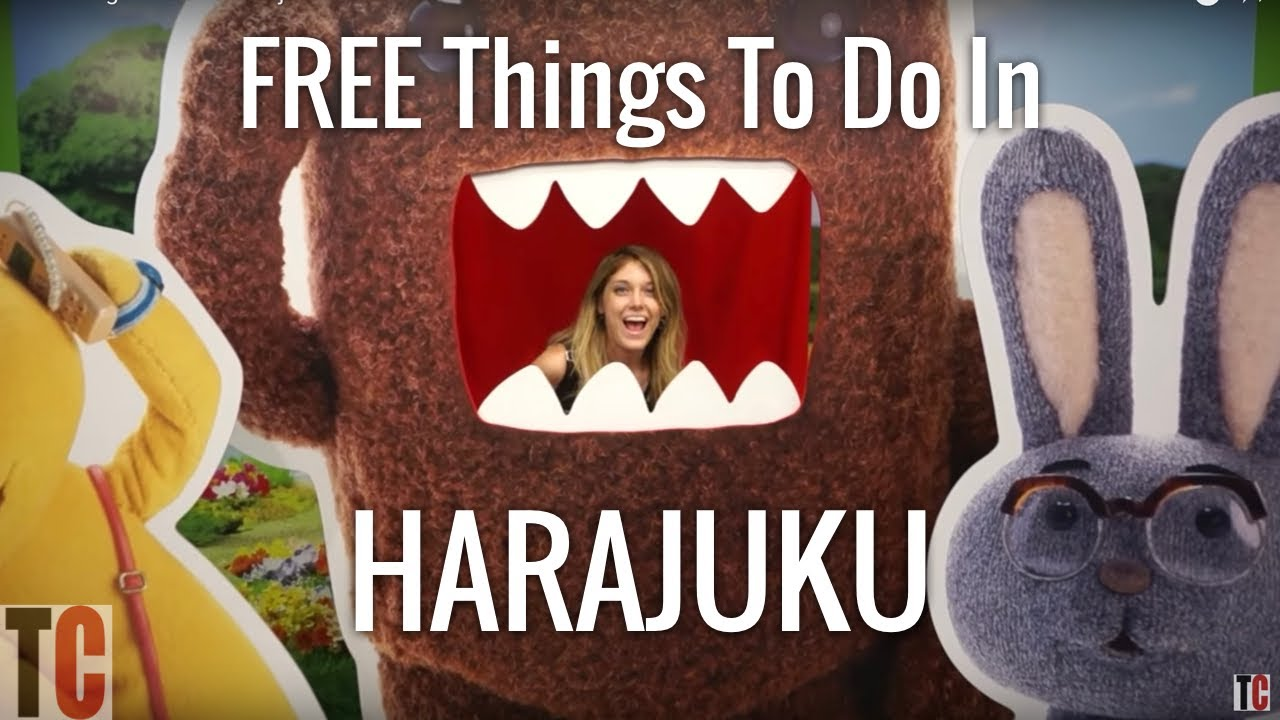 Free Things To Do In Harajuku