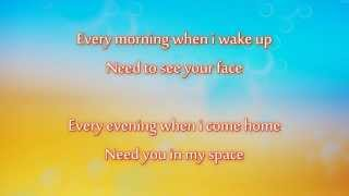 Christopher Martin - Baby I Love You (lyrics on screen)