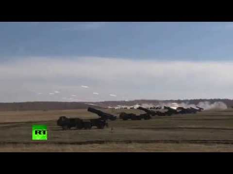 Video  india and Russia test launches missiles during planned military drills