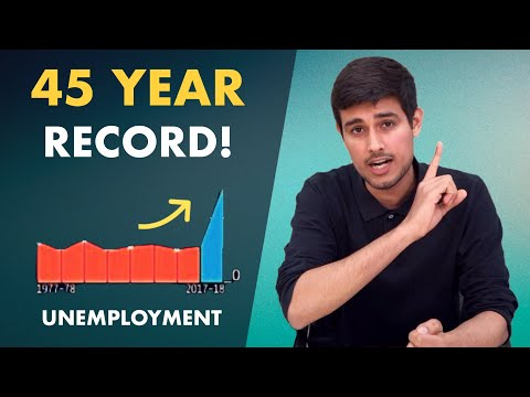 Unemployment Report: How Modi Govt Wants Data Manipulation!   Analysis By Dhruv Rathee