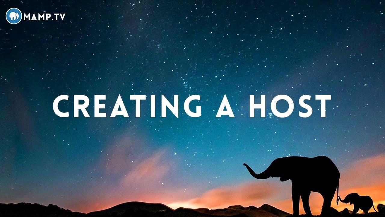51 - MAMP PRO Creating A Host