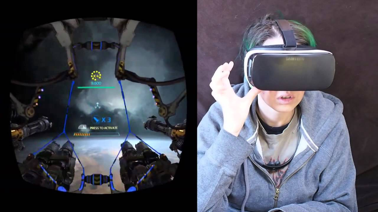 Gunjack for Gear VR Gameplay