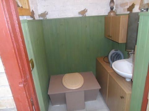 видео: Туалет на даче своими руками Туалет Дачный
