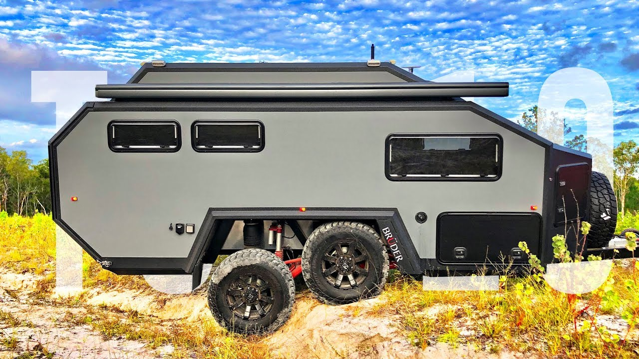 Top 10 Best Camper Trailers of 2019 - YouTube