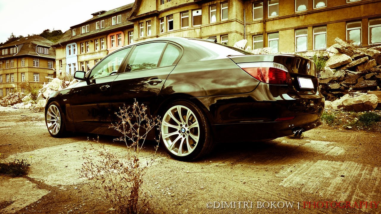 bmw 530i e60 full parking drift hd youtube. Black Bedroom Furniture Sets. Home Design Ideas