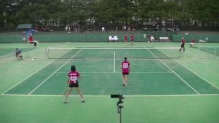 '17 東日本ソフトテニス選手権大会 一般女子 決勝