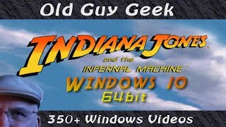 Install Indiana Jones And The Infernal Machine on Windows 64bit Systems