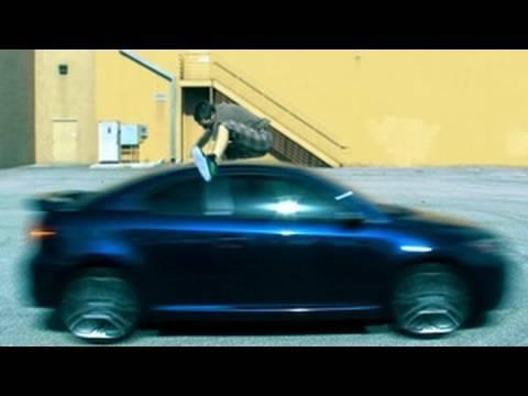 Film Riot Jump Over A Car Like Kobe Bryant Film Riot Tutorial Youtube