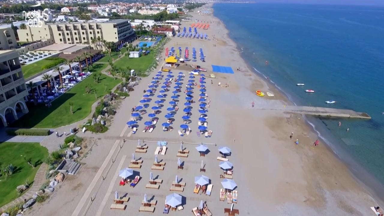 Nicolaus Club Aquila Rithymna Beach Creta - YouTube
