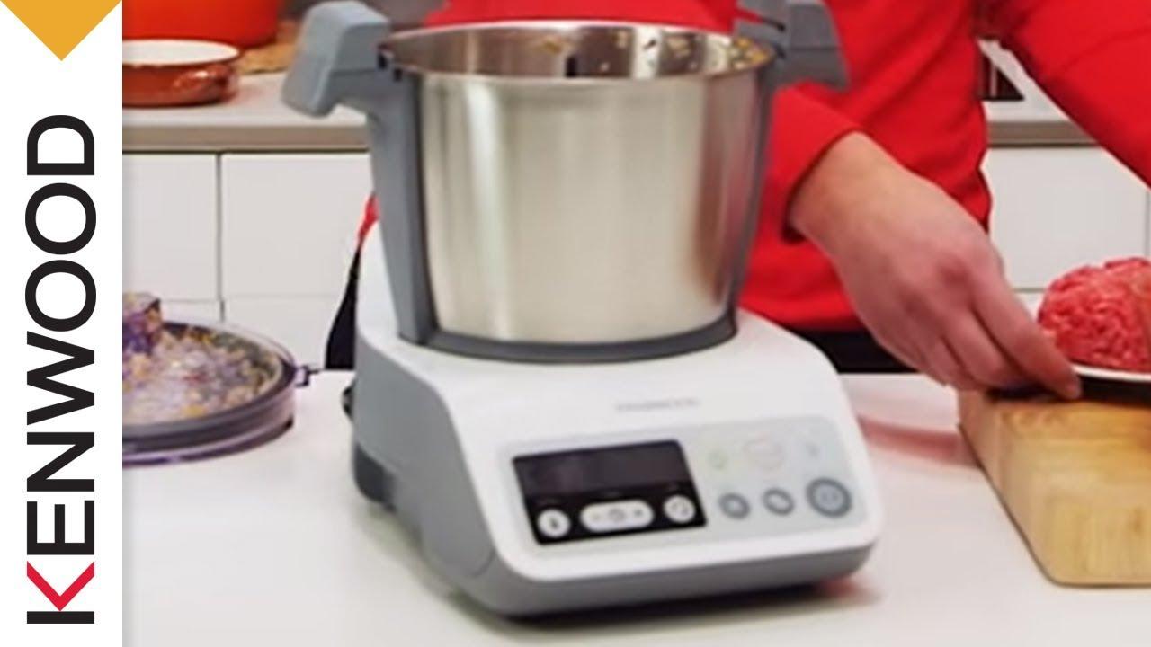 recette de risotto avec le kcook de kenwood youtube. Black Bedroom Furniture Sets. Home Design Ideas
