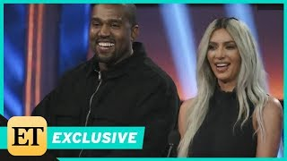 Watch a 'Smiley' Kanye West Hijack 'Celebrity Family Feud' With the Kardashians (Exclusive)