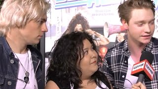 Ross Lynch Talks Austin & Ally Kisses! - 'Bad Hair Day' Premiere