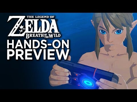 Zelda Breath Of The Wild - Hands On With The First 5 Hours