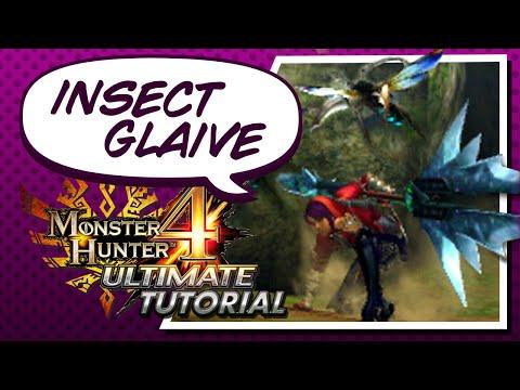 Tutorial de Insect Glaive para Monster Hunter 4 Ultimate - Español