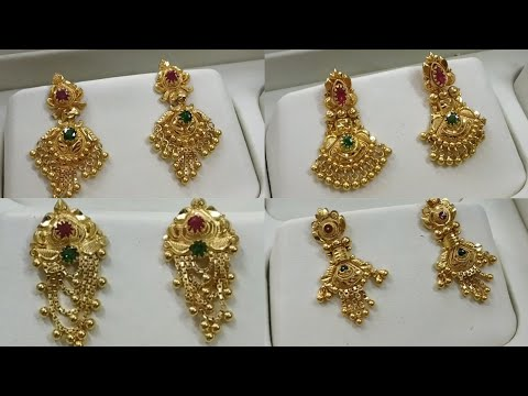 Daily Wear Gold Earings Collection With Weight N Address