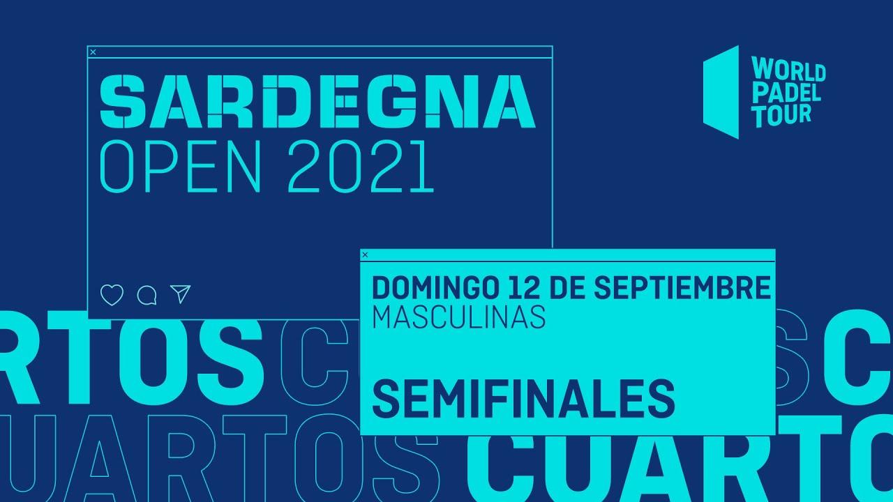 Download Semifinales Masculinas - Sardegna Open 2021  - World Padel Tour