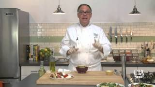 Grilled Vegetables With Five Mediterranean Sauces