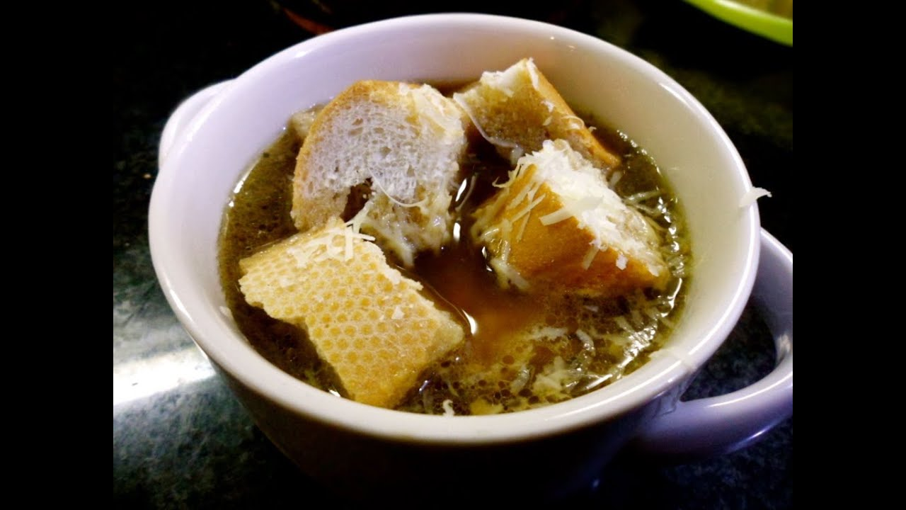 how to cook m&m onion soup
