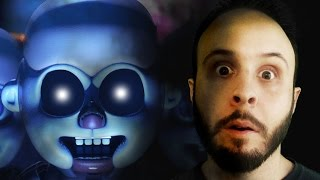SCARED STUPID - Five Nights at Freddy's: Sister Location Gameplay